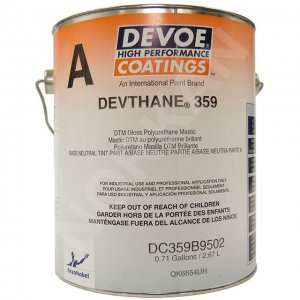 Devoe Devthane 359 - Direct to Metal - Urethane - Tintable White 1g