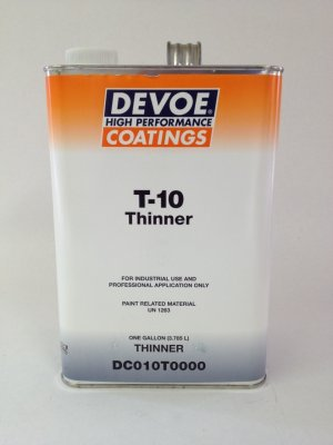 Devoe T-10 Thinner 1 Gallon
