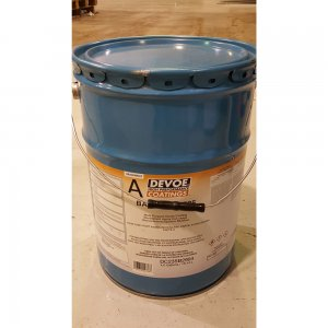 Devoe Bar Rust 235 - Surface Tolerant Epoxy Semi Gloss - White 1g
