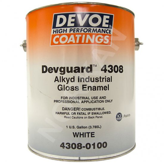 Devoe Devguard 4308 Alkyd Protective Gloss Enamel - 1g - DESERT SAND - Click Image to Close