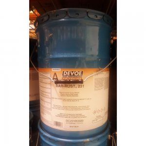 Devoe Bar Rust 231 - Surface Tolerant Epoxy - Haze Gray 5g