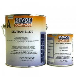 Devoe Devthane 379 Aliphatic Urethane - SAFETY YELLOW