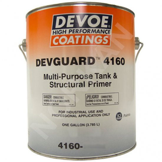 Devoe Devguard 4160 - Alkyd Primer Rust Inhibitor - White 1g - Click Image to Close