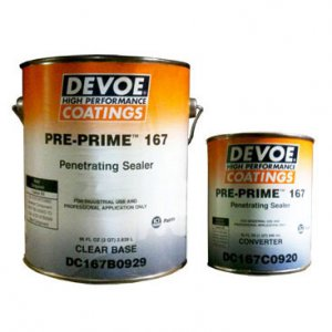 Devoe Pre Prime 167 - Penetrating Epoxy Sealer - 100% Solids - 1g