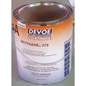 Devoe Devthane 378 - Aliphatic Urethane - Tintable Semi Gloss White 1g