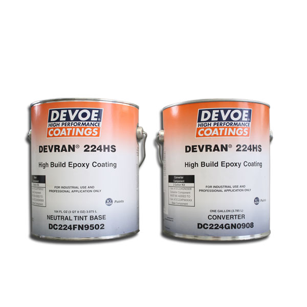 Devoe Coatings, Devran 224V, Neutral Base, 2-Gal Kit